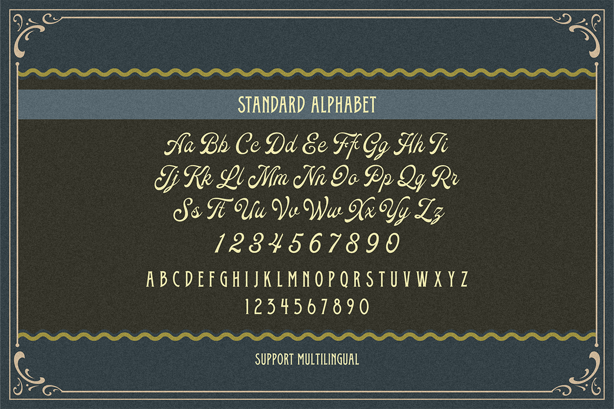 Oldy Beany Font Duo with Extras example image 7