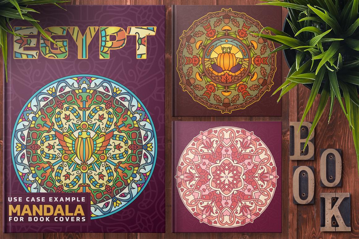 Seasonal and Holiday Mandalas example image 9