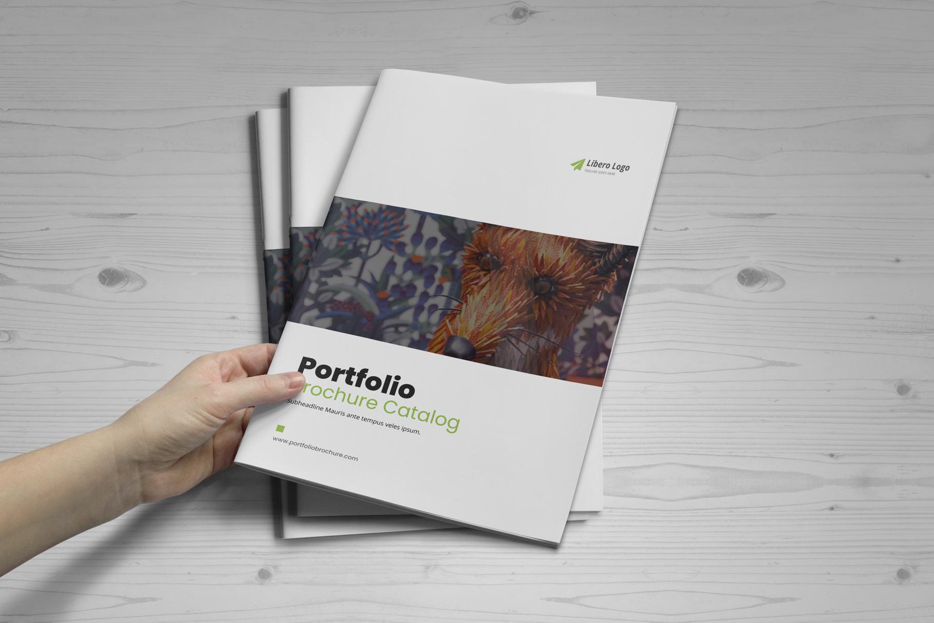 Portfolio Brochure Design v4 example image 15