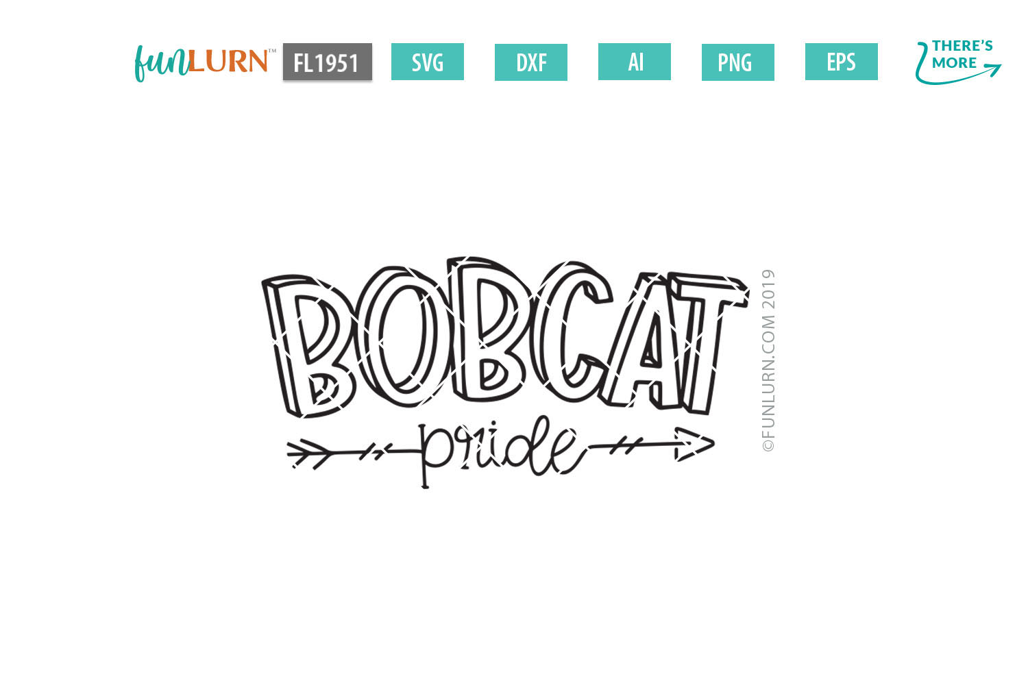 Bobcat Pride Team SVG Cut File example image 2
