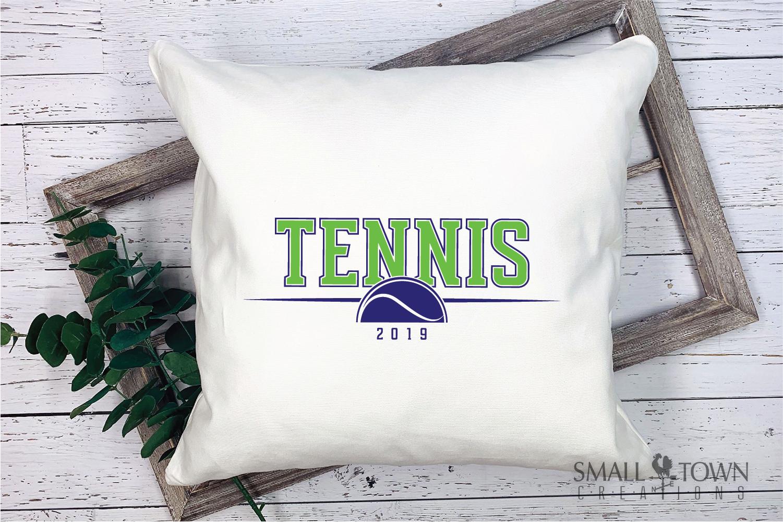 Tennis, tennis ball, Sports, Team logo, PRINT, CUT & DESIGN example image 3