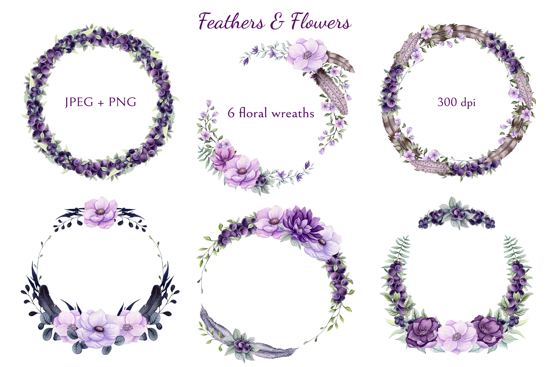 Feathers & Flowers example image 8