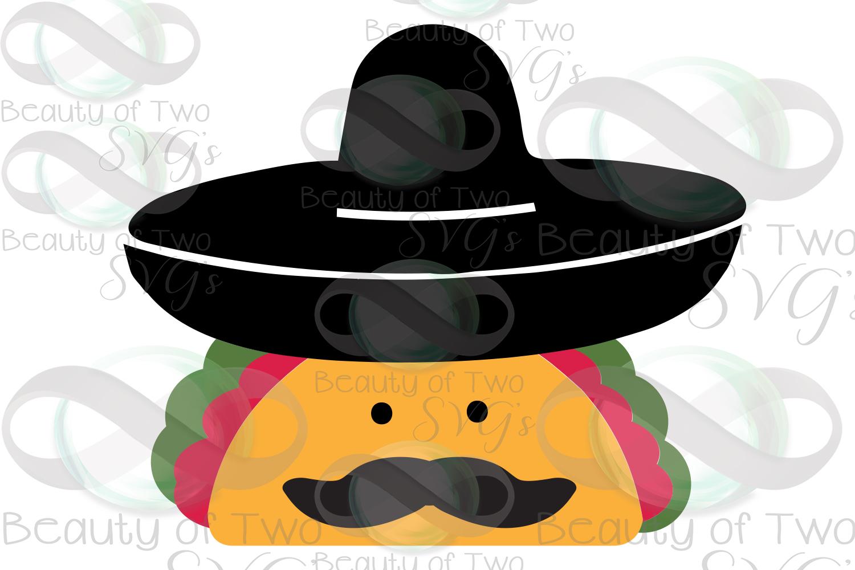 Cinco de Mayo taco svg & png, taco svg, sombrero svg example image 3