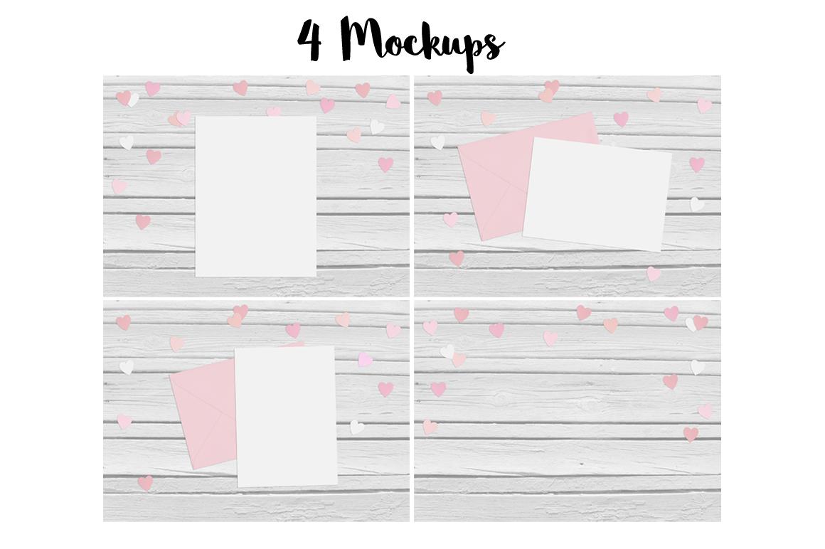 4 Heart mockups example image 3