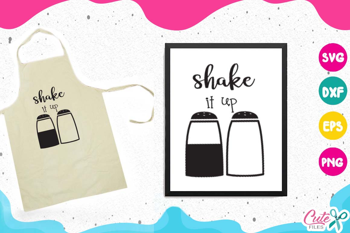Kitchen bundle, my kitchen my rules svg cut files example image 7