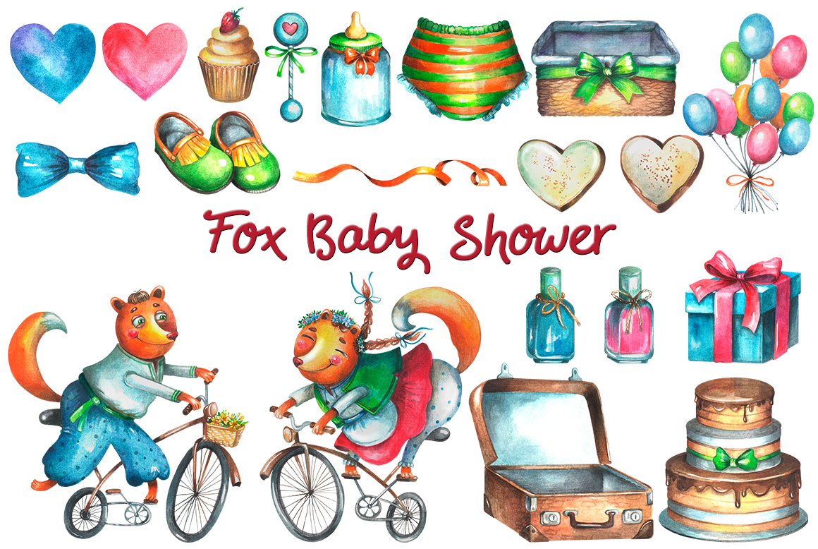 Fox Baby Shower example image 2