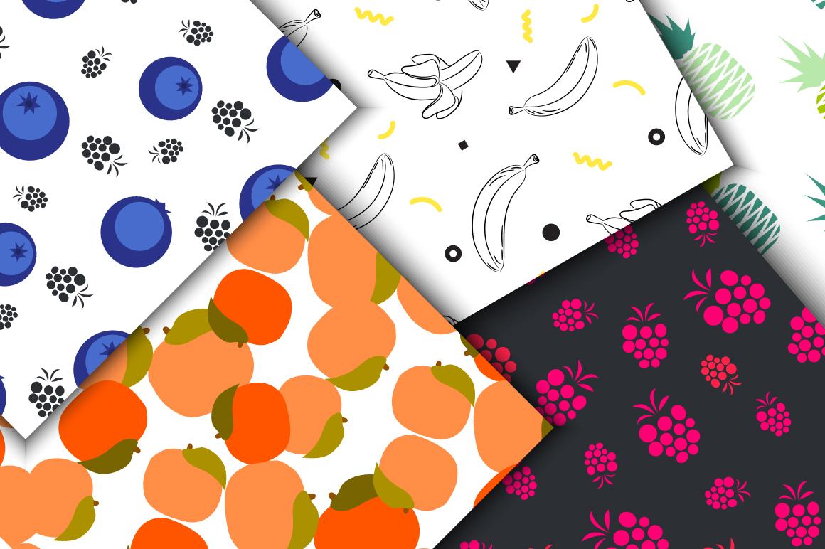Juicy Pop Art Fruits example image 2