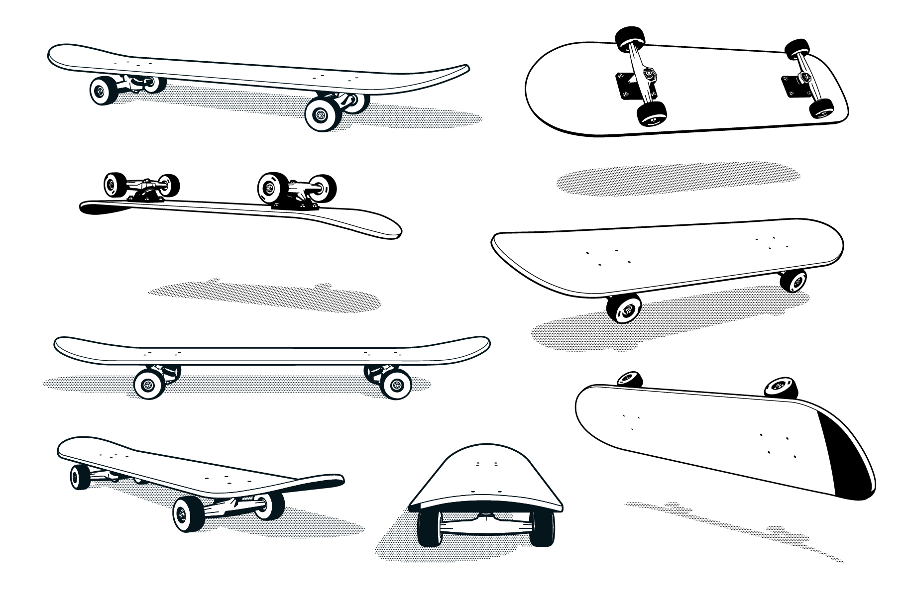 Skateboard Pack example image 2