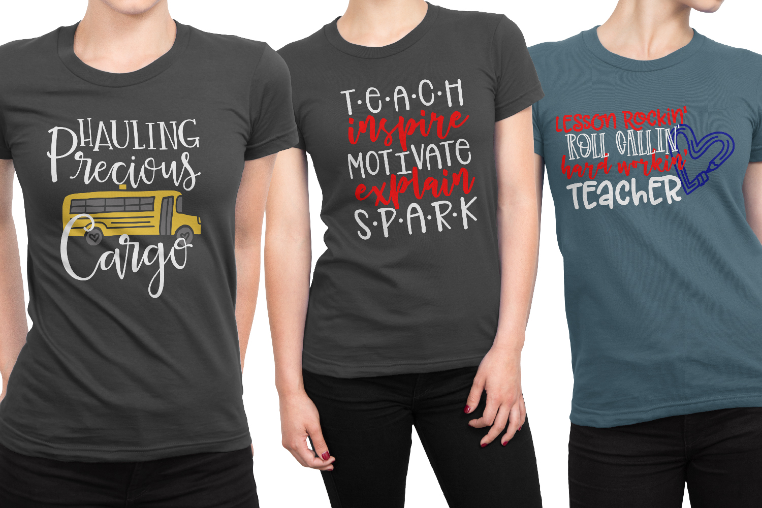 Teacher Gifts Bundle - 24 SVG's for the Whole Staff! example image 8