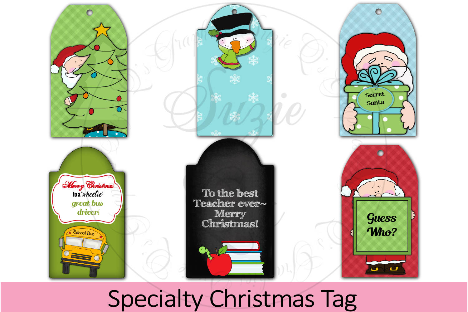 Specialty Christmas Tags example image 1