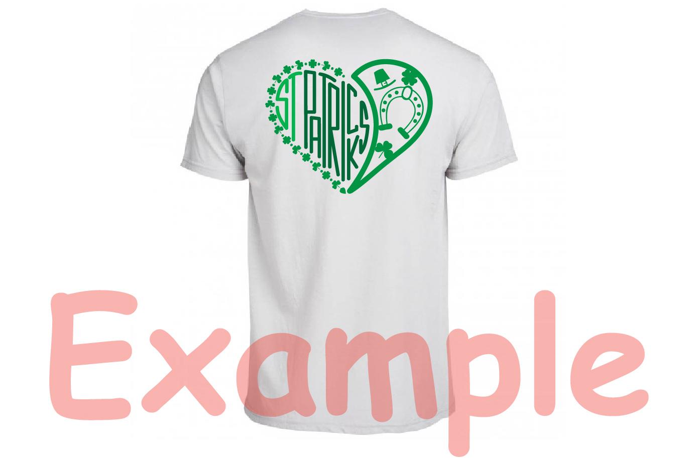 St. Patricks Day SVG love heart Saint -69sv example image 5