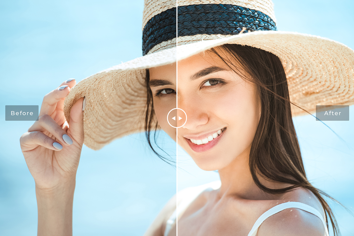 Beach Collection Lightroom Presets example image 2