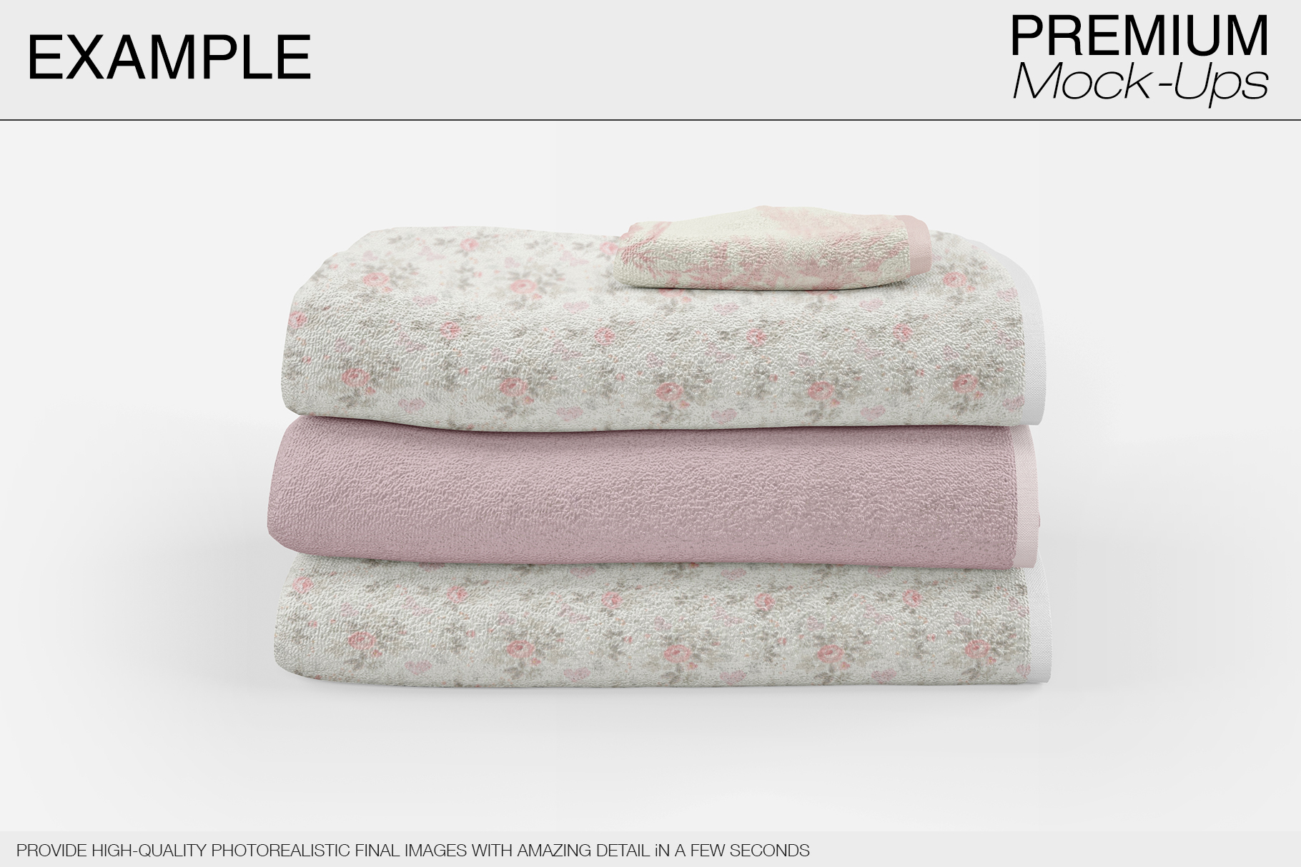 Bath Towels example image 14