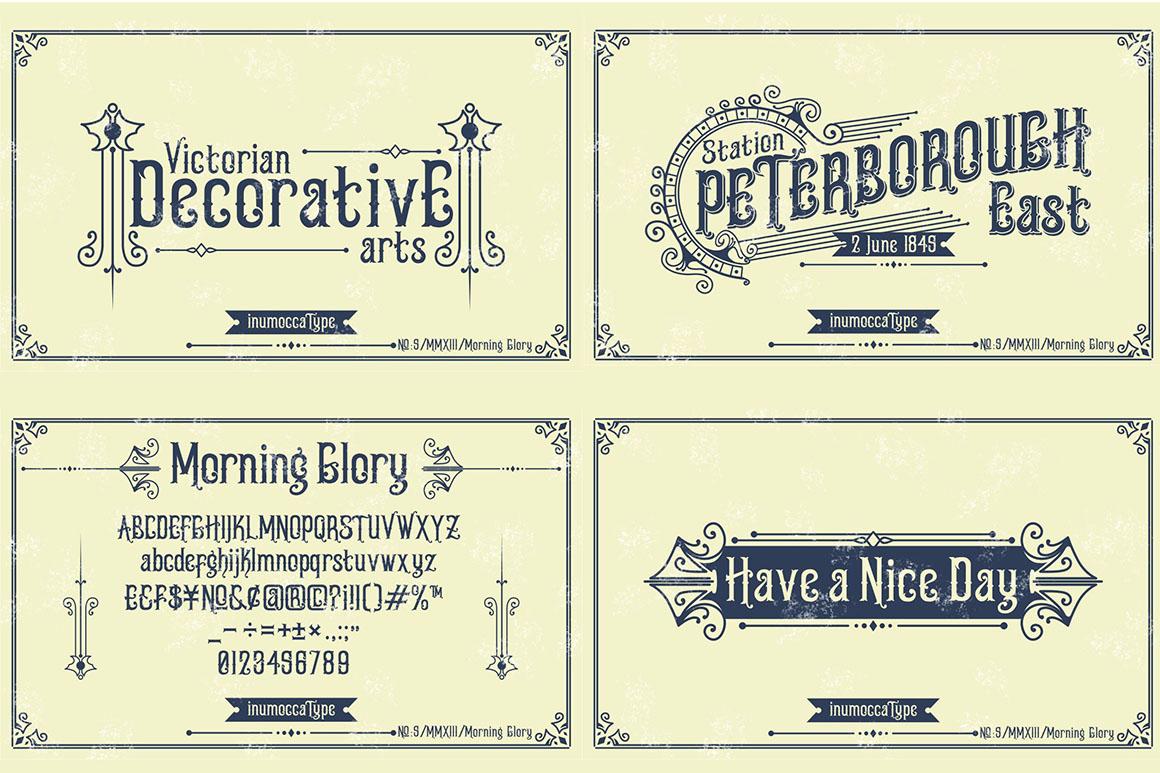 5 Typeface vintage bundle example image 5