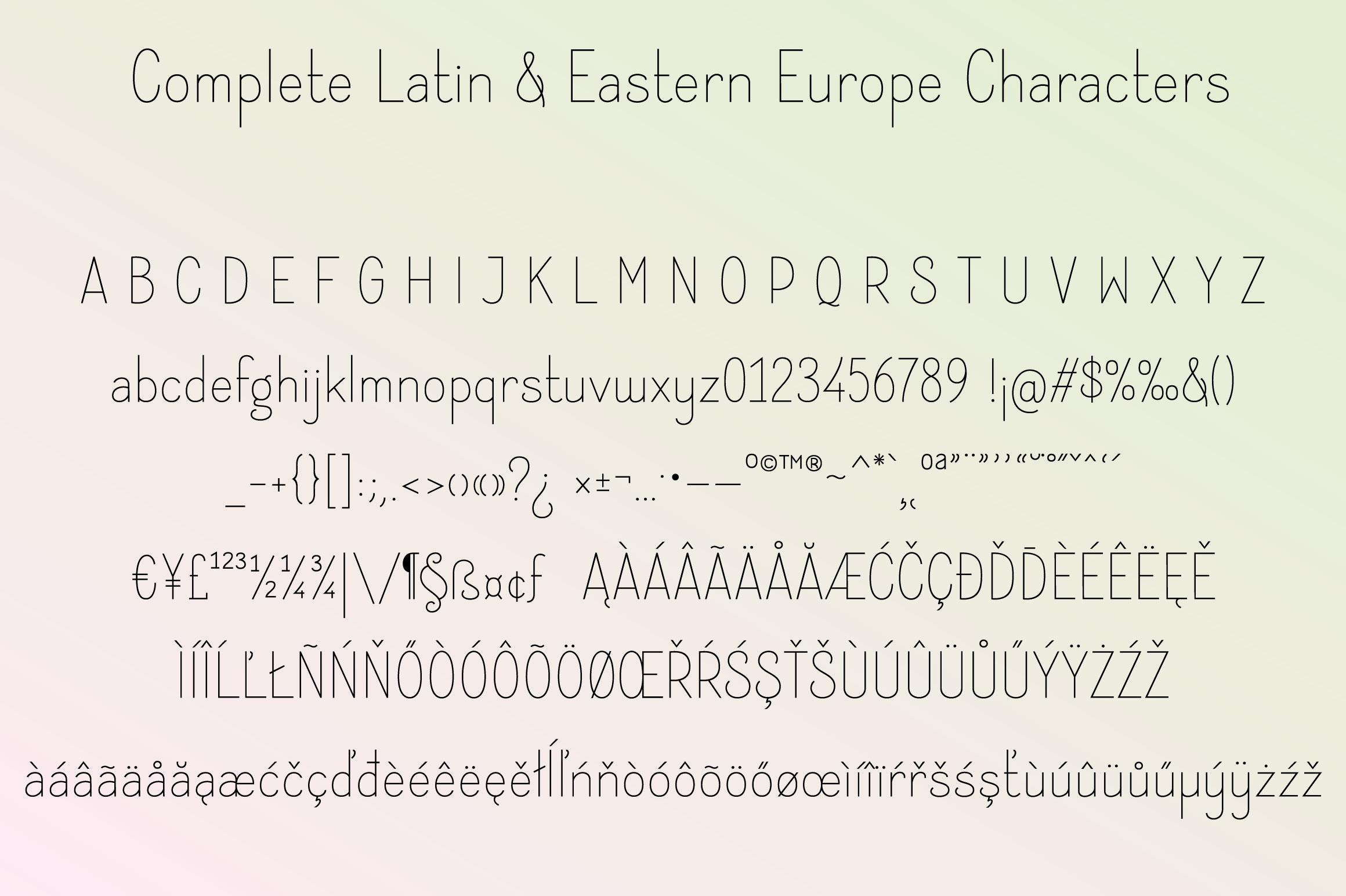 Instine Font Duo example image 8