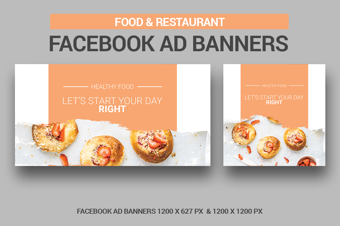 Food & Restaurant - Facebook Ads example image 1
