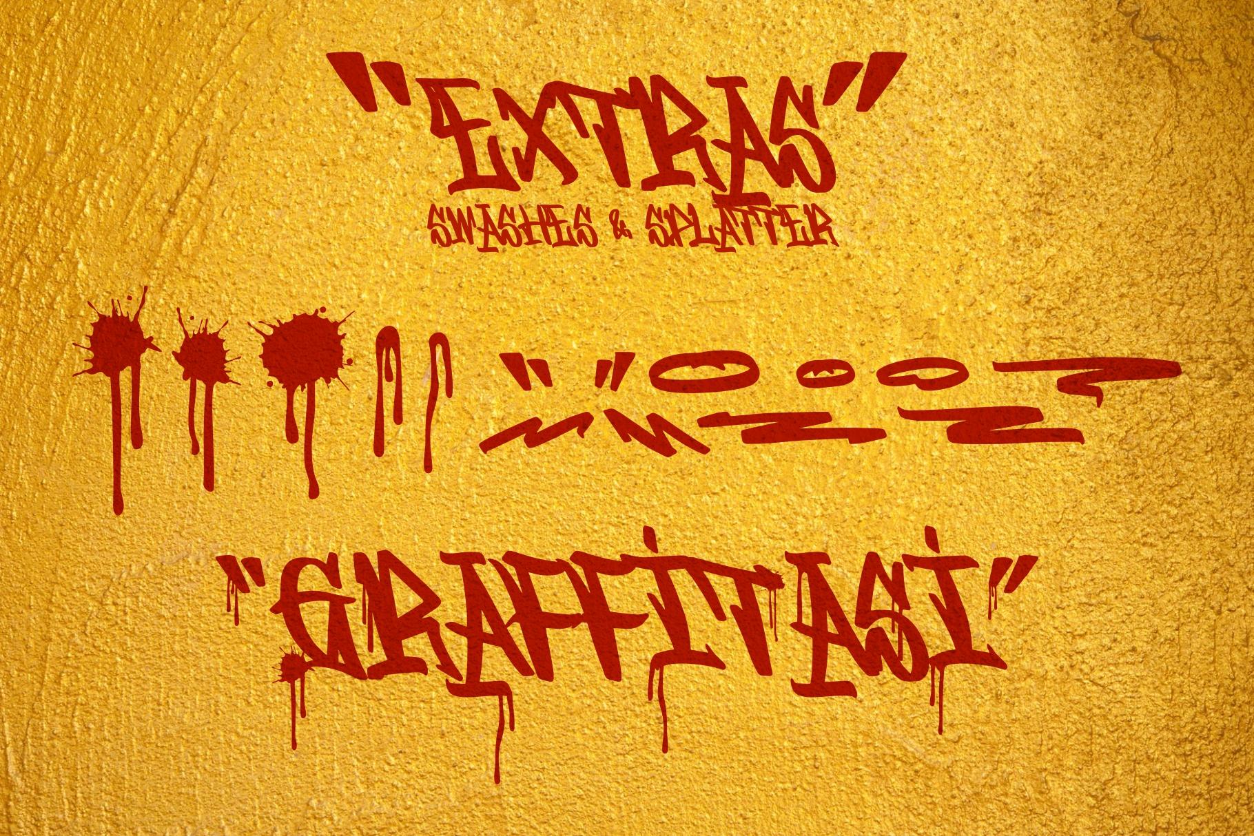 GRAFFITASI - Street Fonts example image 7