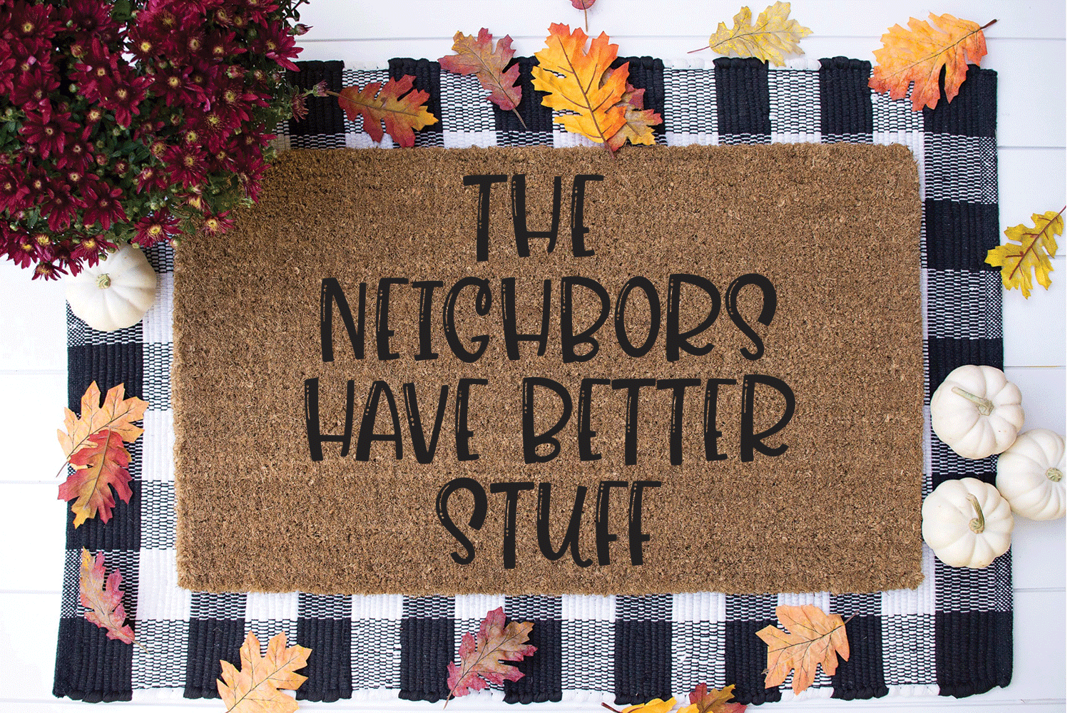 Funny Doormat SVG Bundle example image 12