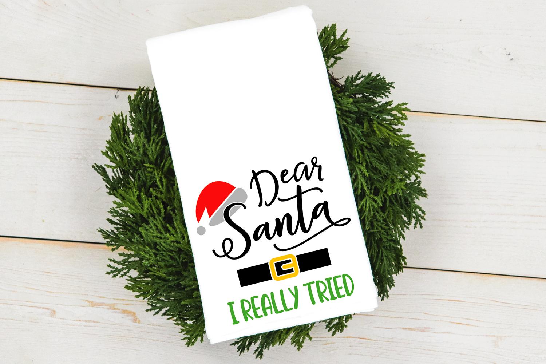 Dear Santa Christmas Bundle SVG cut files example image 6