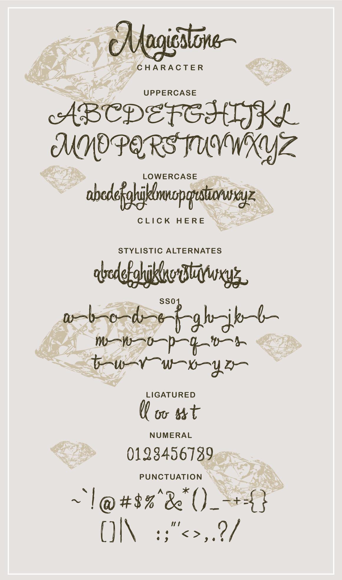 Magicstone Typeface example image 5