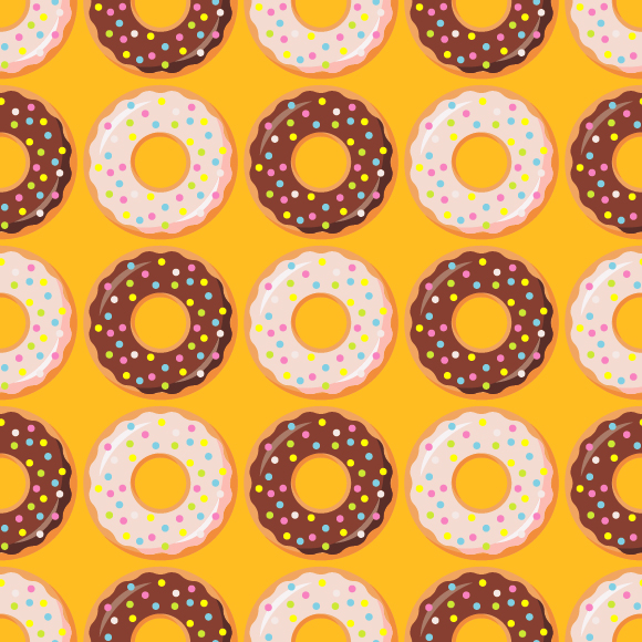 Collection Of Donuts example image 3