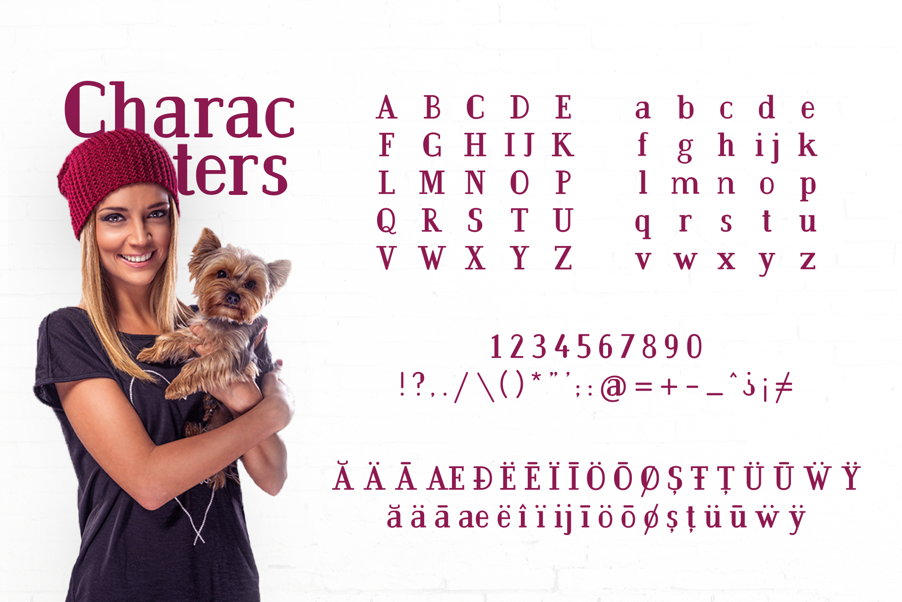 BarkWise - Multi-Purpose Serif Font example image 2