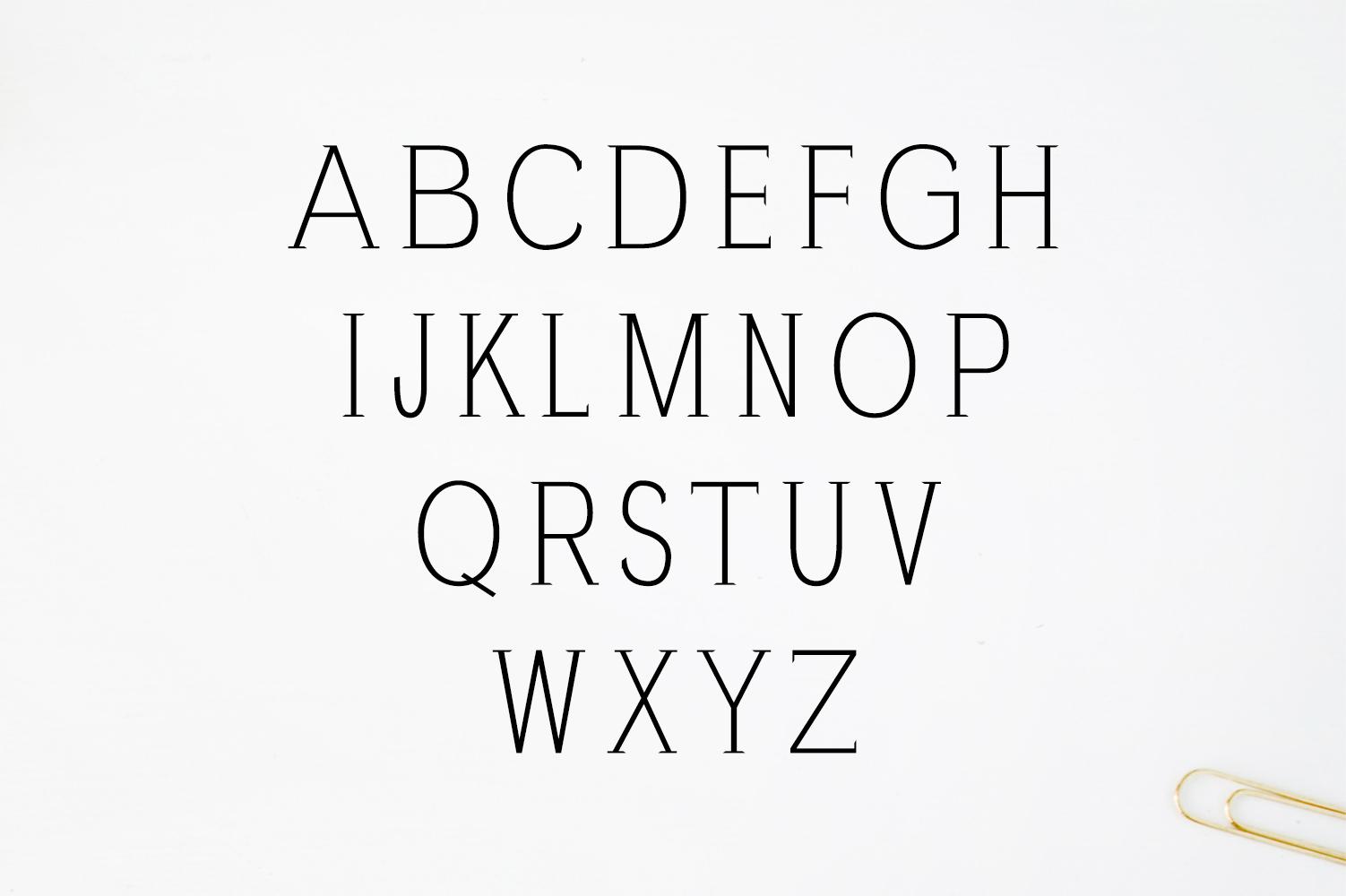 Zayley Serif Regular Font example image 5