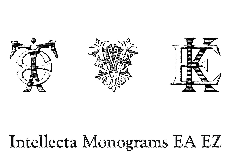 Intellecta Monograms EA EZ example image 7