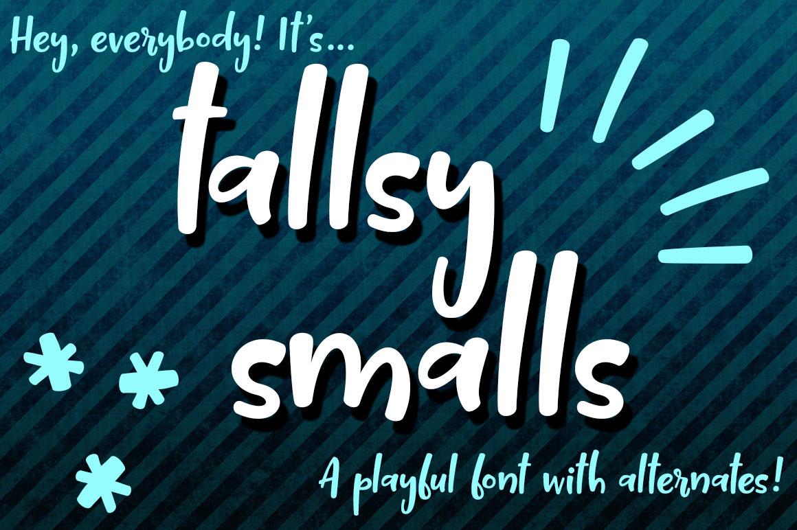 Tallsy Smalls: main header image