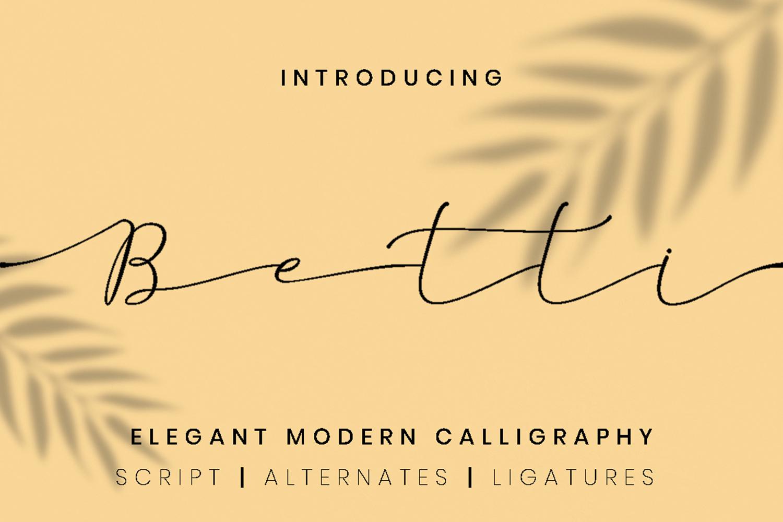 Betti Script example image 1