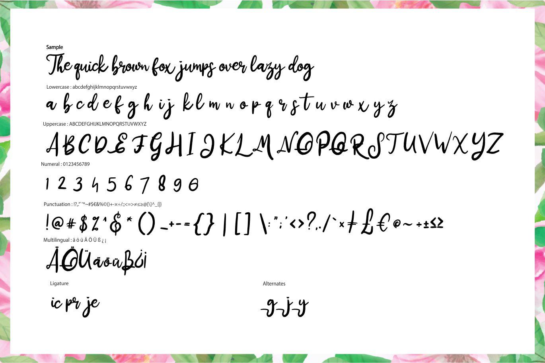 Distrik   Handwritten Script Font example image 6