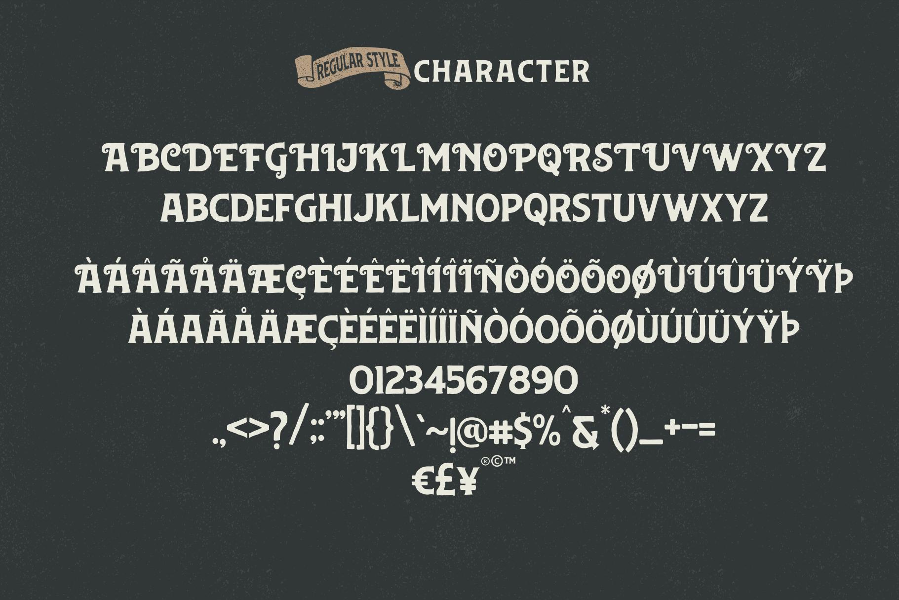 Huvet Typeface example image 6