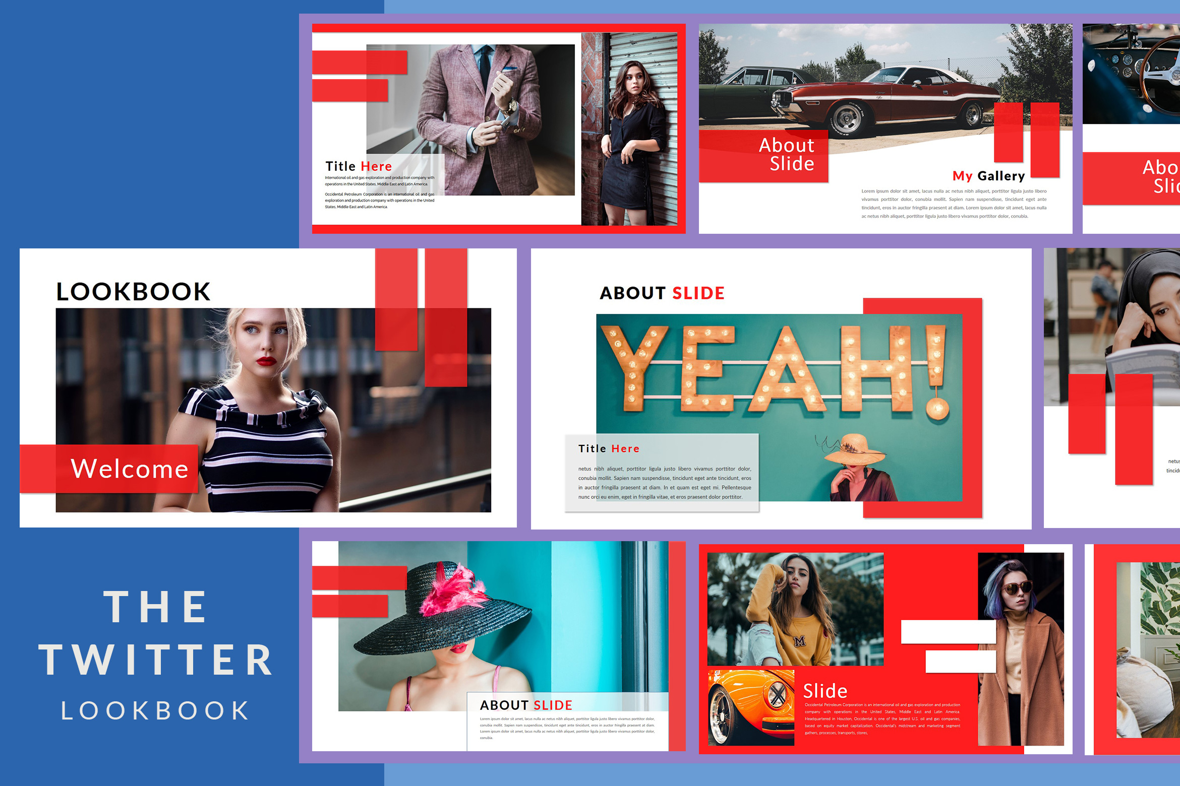 The Twitter Lookbook - Powerpoint example image 2