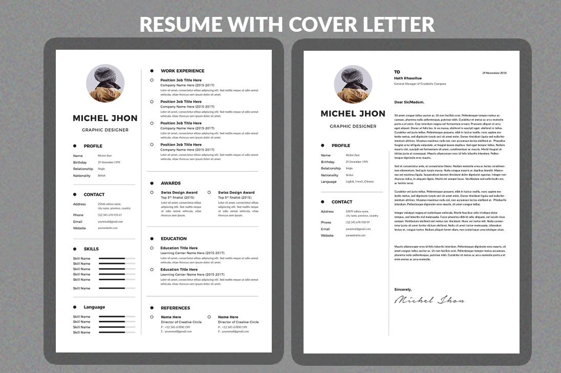 Resume example image 1