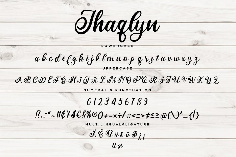 Jhaqlyn Modern Calligraphy example image 3