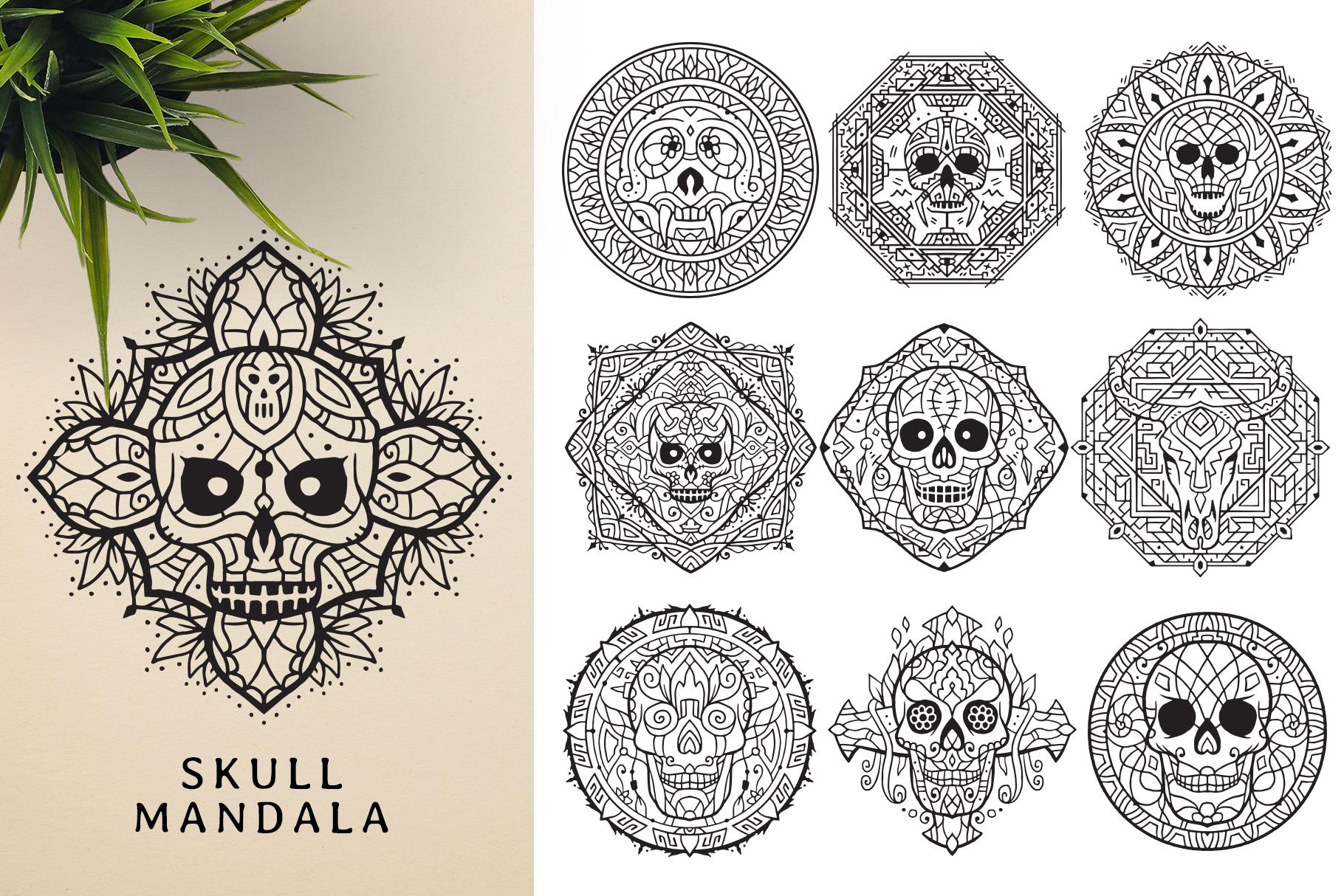 300 Vector Mandala Ornaments example image 14