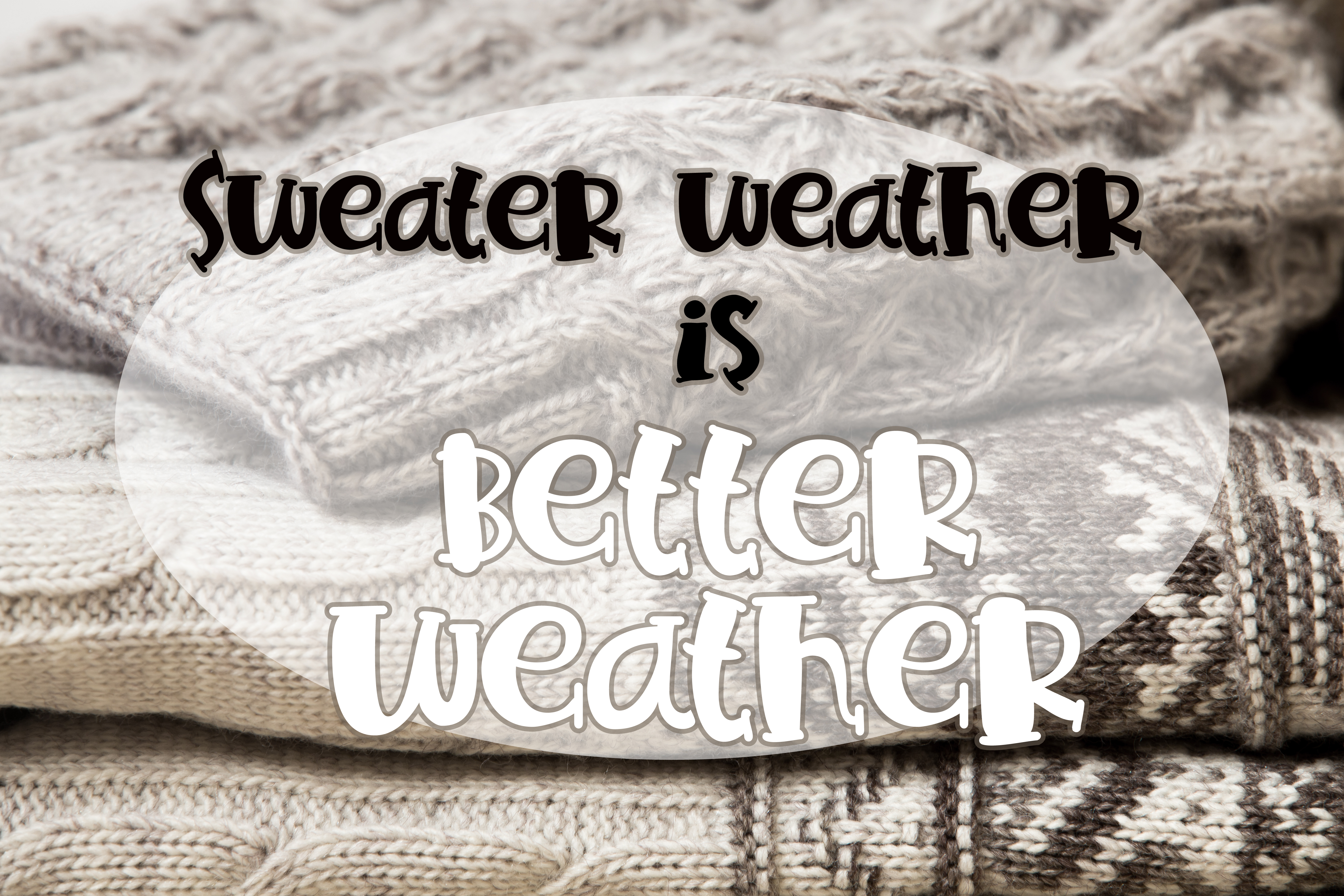 PN Sweater Weather Serif example image 4