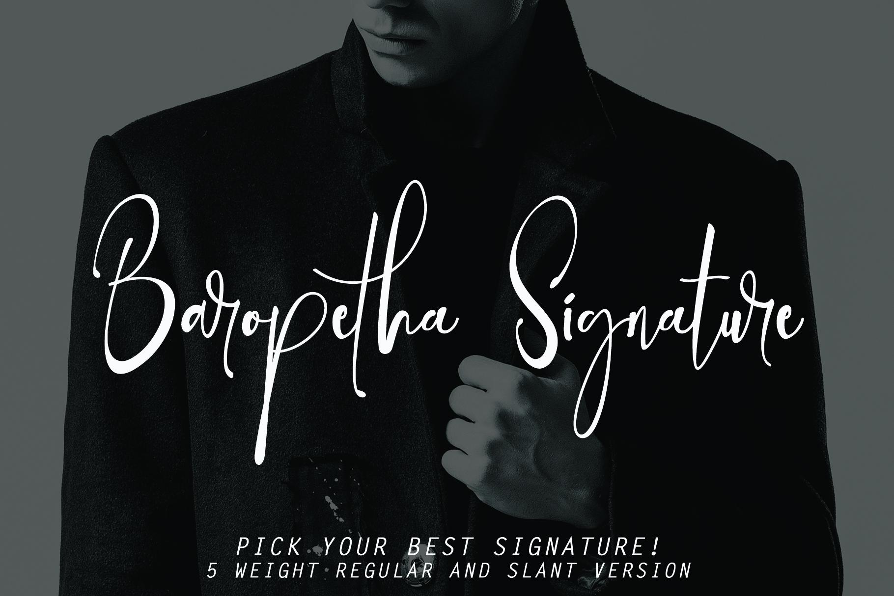 Baropetha Signature - 5 Weight Signature example image 9