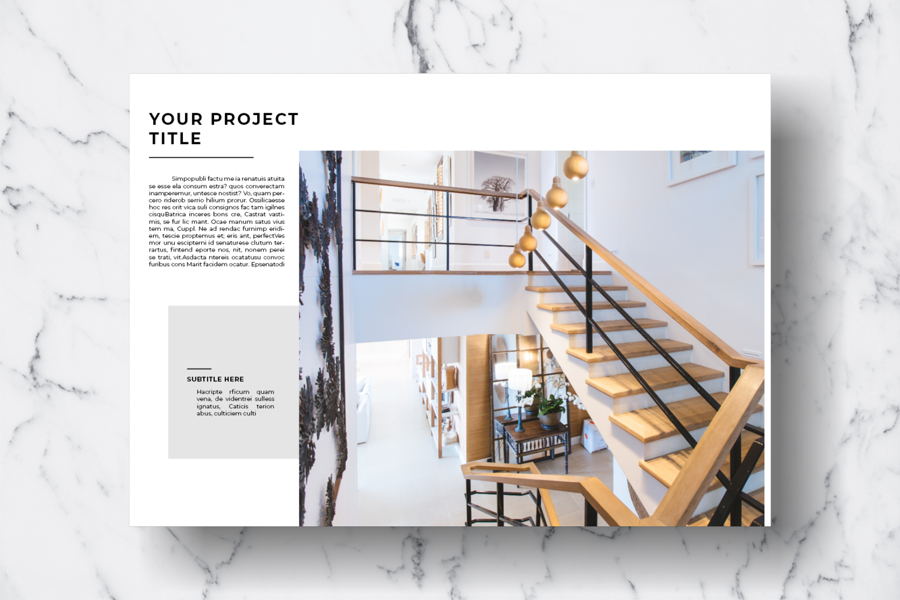 Magazine Template Vol. 11 example image 6