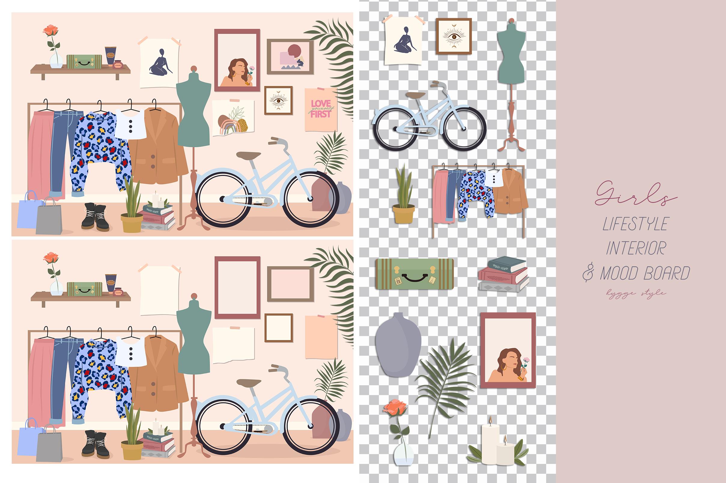 Lifestyle interior & mood board example image 5