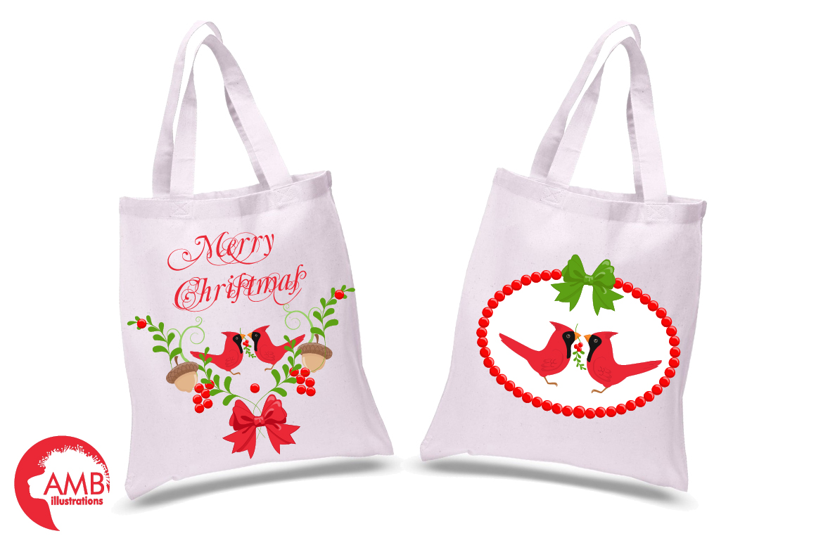 Christmas greetings embellishments, clipart, graphics, illustrations AMB-1464 example image 2