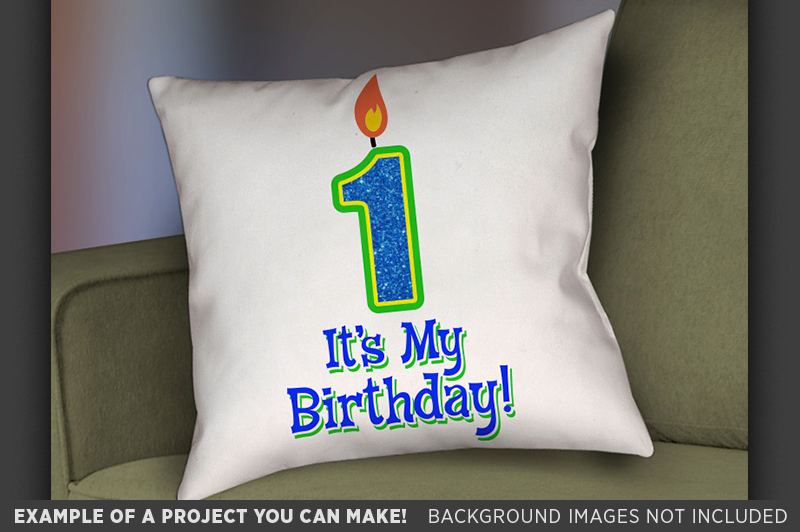 1st Birthday SVG - Its My Birthday SVG - Kids Shirt - 1028 example image 2