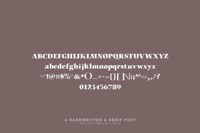 Millton - Font Duo example image 9