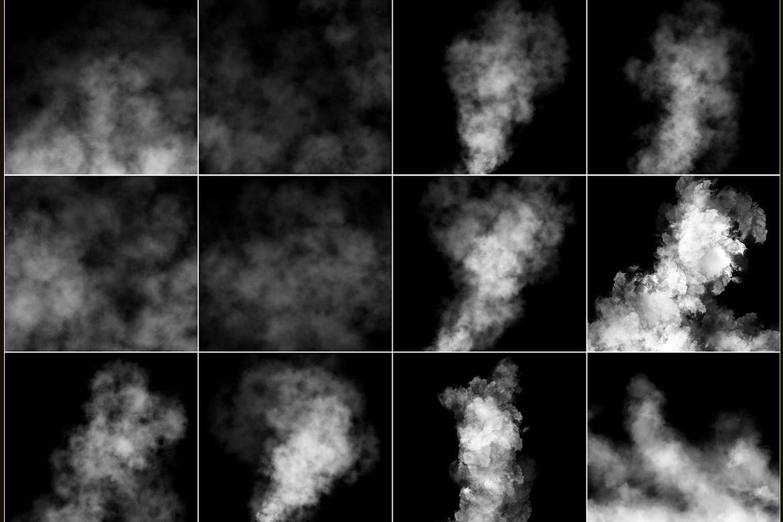 100 Cloudy Smoke Overlays example image 6