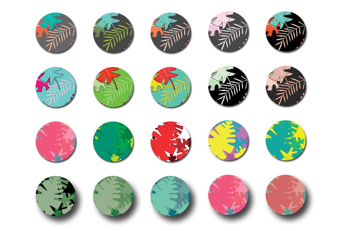 100 Urban Jungle Patterns-Bundle example image 6