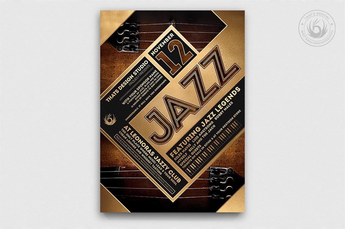 10 Jazz Festival Flyer Bundle example image 6