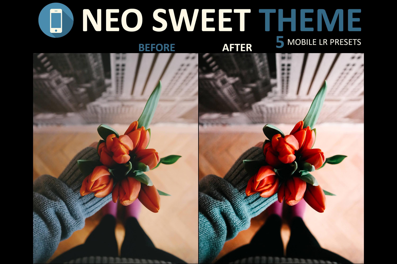 Neo Sweet Theme mobile lightroom presets example image 6