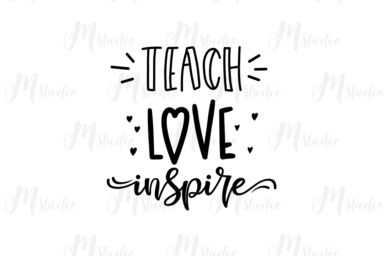 Teacher SVG Bundle. example image 17