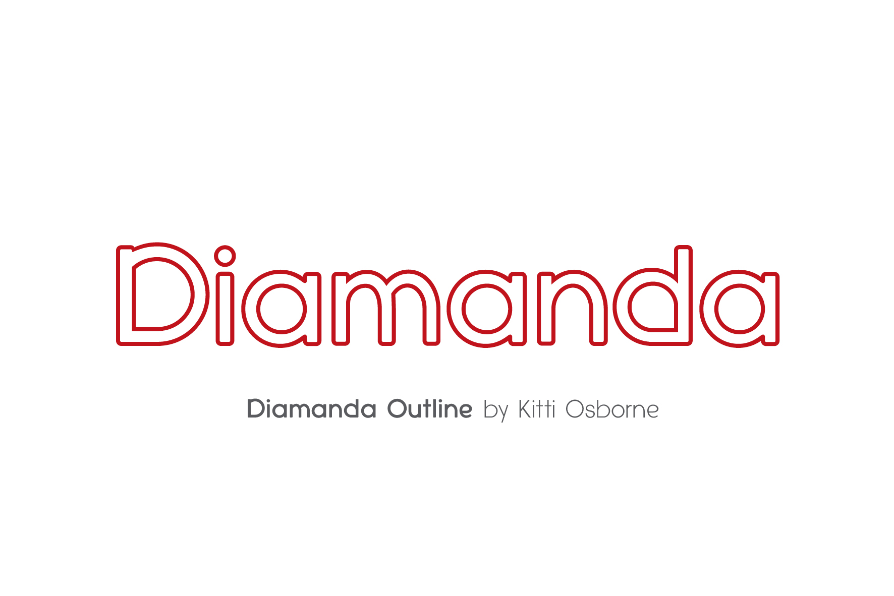 Diamanda Font Family Bundle includes 6 crafting fonts example image 16