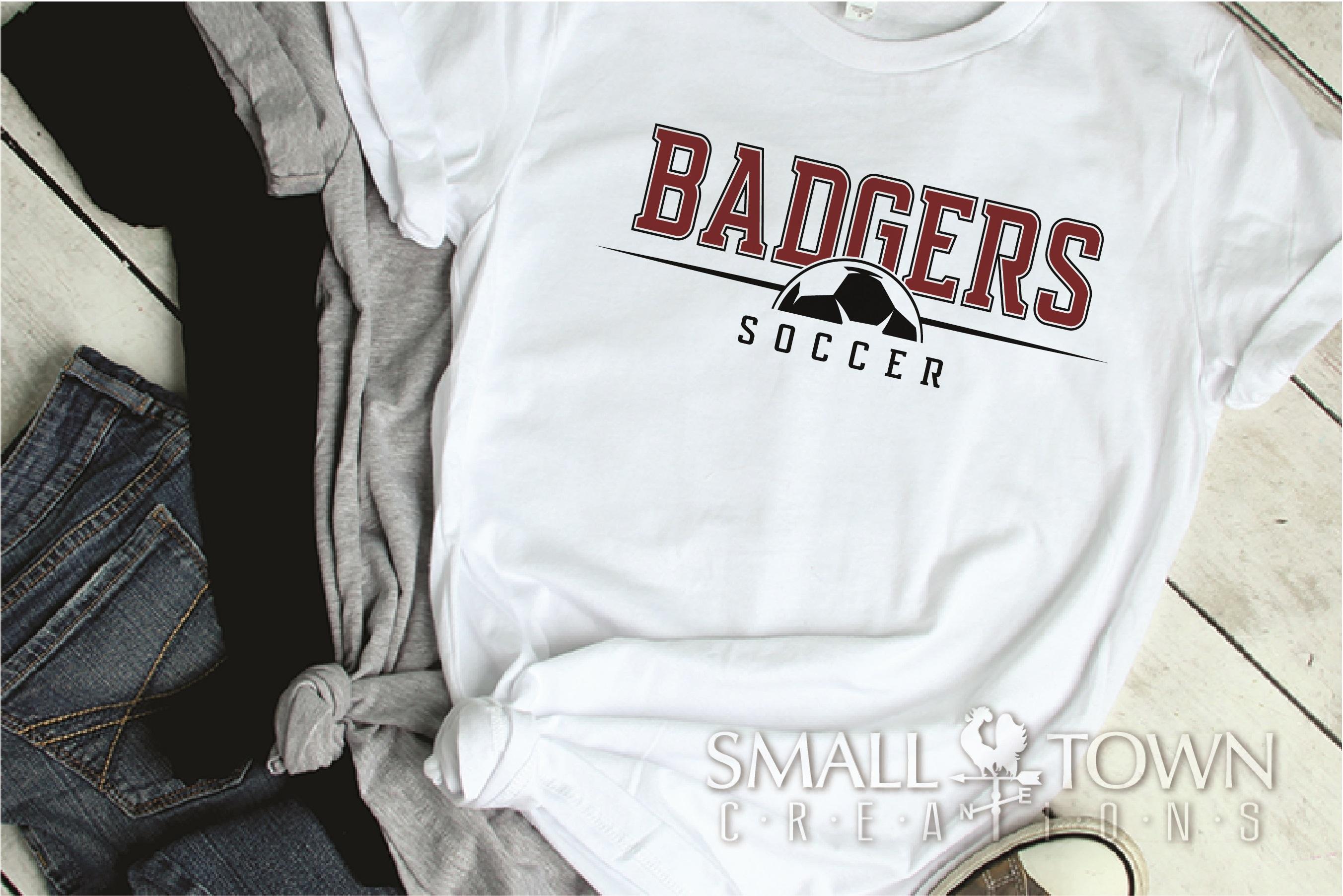 Badger, Badger Soccer Team, Sport, PRINT, CUT & DESIGN example image 2